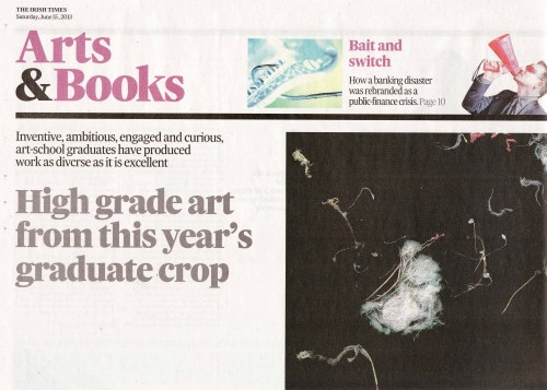 Irish Times Arts & Books