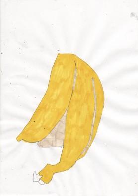 Banana eaten