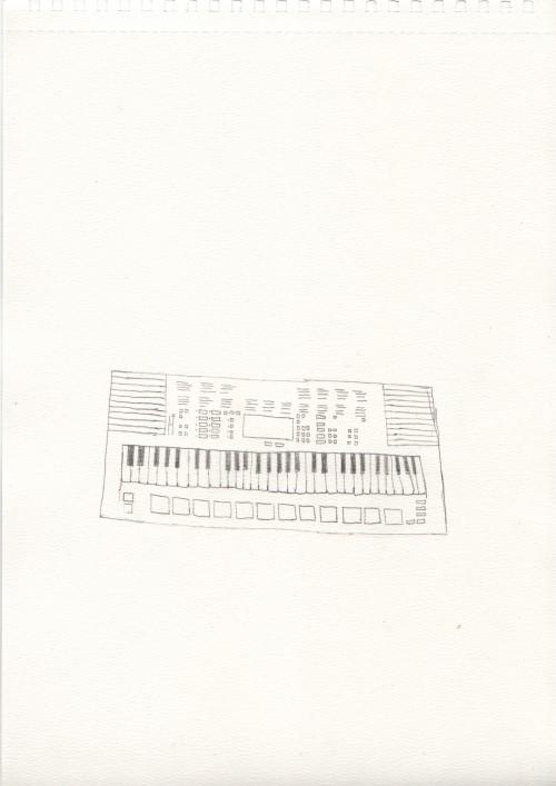 Yamaha Keyboard -52