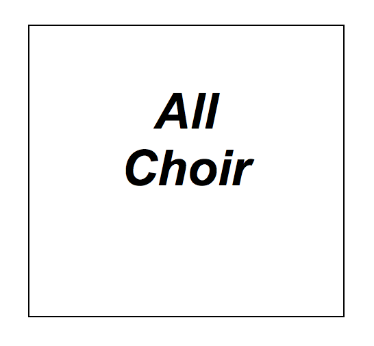 All Choir, Logo